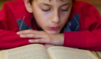 Für viele Jungs ist Lesen uncool (Foto)
