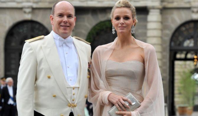 Fürst Albert und Charlene Wittstock (Foto)