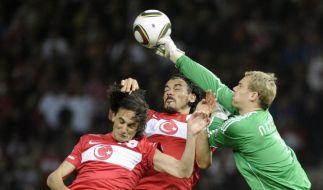 Fußball Deutschland Türkei (Foto)