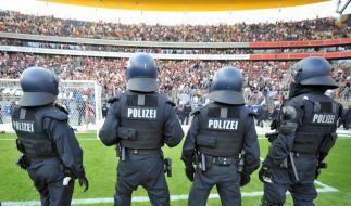 Fußball-Krawalle (Foto)