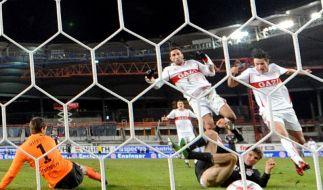 Fußball-Turbulent: Bayern siegen 5:3 beim VfB (Foto)