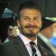 Fußballstar David Beckham will 2013 in Rente gehen.