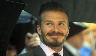 Fußballstar David Beckham will 2013 in Rente gehen. (Foto)