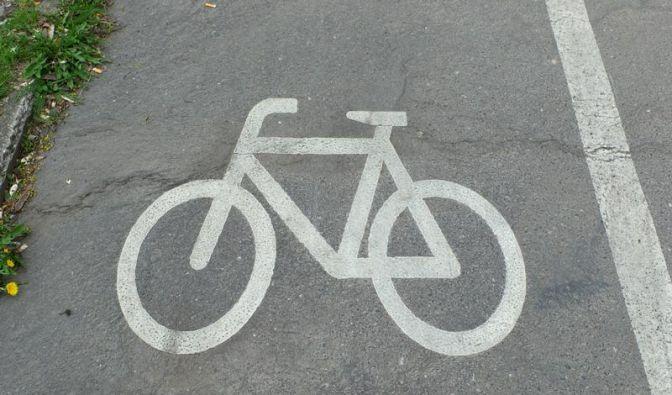 Fußgänger auf Radwegen in Gefahr (Foto)