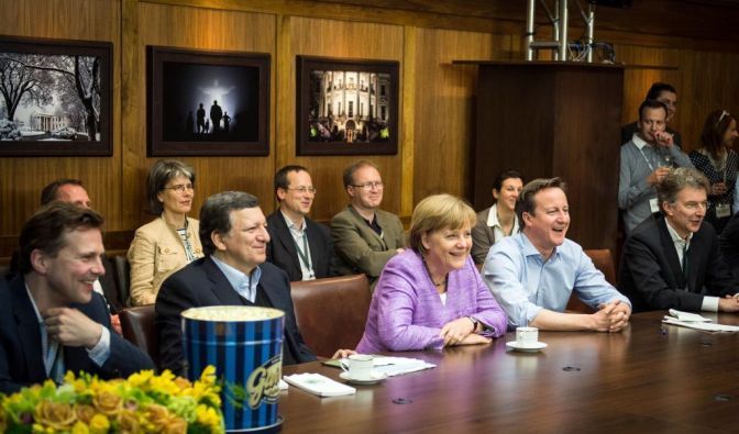 G-8 Gipfeltreffen in Camp David (Foto)