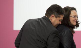 Gabriel entzieht Nahles Wahlkampf-Führung für Bundestagswahl (Foto)
