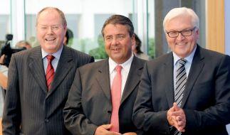 Gabriel, Steinmeier und Steinbrück (Foto)