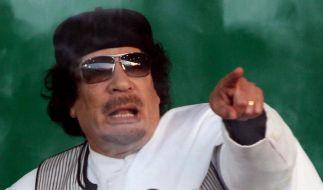 Gaddafi angeblich auf der Flucht (Foto)