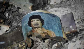 Gaddafi-Bild (Foto)