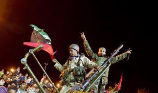 Gaddafi bombardiert (Foto)