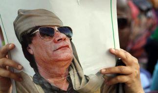 Gaddafi droht: Krieg nach Europa tragen (Foto)