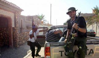 Gaddafi-Getreue erobern Bani Wali zurück (Foto)