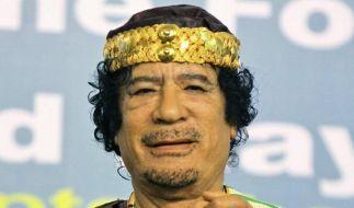 Gaddafi meldet sich erneut mit Audiobotschaft.  (Foto)
