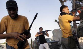 Gaddafi will kämpfen bis zum Tod (Foto)
