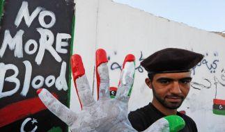 Gaddafis Familie in Algerien (Foto)