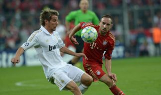 Gala von Ribéry - Dank an Siegtorschütze Gomez (Foto)