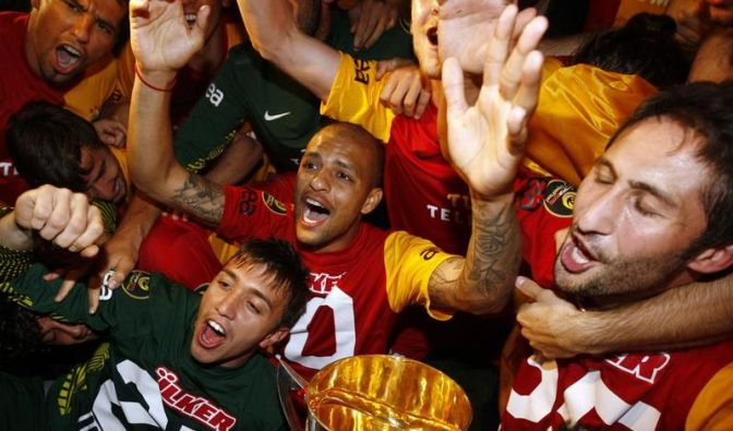 Galatasaray erhielt Pokal erst auf Druck von Erdogan (Foto)