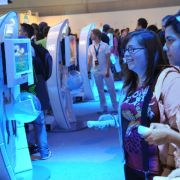 Anschauen und ausprobieren: Auf der Gamescom 2011 werden die neusten Videospiele gezeigt.