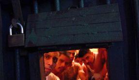 Gangmitglieder in einem Knast in Guatemala. (Foto)
