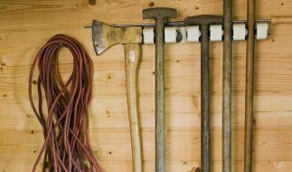 Gartenschaufel-Stiel in S-Form schont den Rücken (Foto)