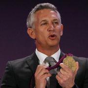 Gary Lineker war der Repräsentanten der Olympischen Spiele 2012 in London.