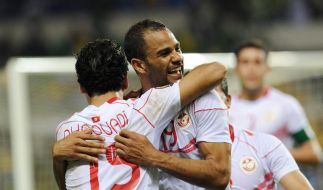 Gastgeber Gabun und Tunesien gewinnen bei Afrika-Cup (Foto)