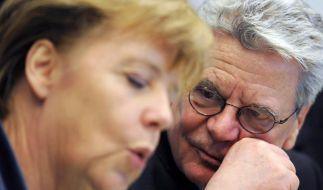 Gauck-Appell an Kanzlerin: Euro-Politik besser erklären (Foto)