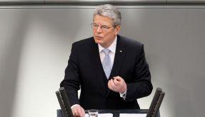 Gauck ruft zu Mut und Zuversicht auf (Foto)