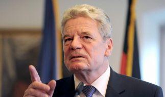 Gauck sagt Besuch in der Ukraine ab (Foto)