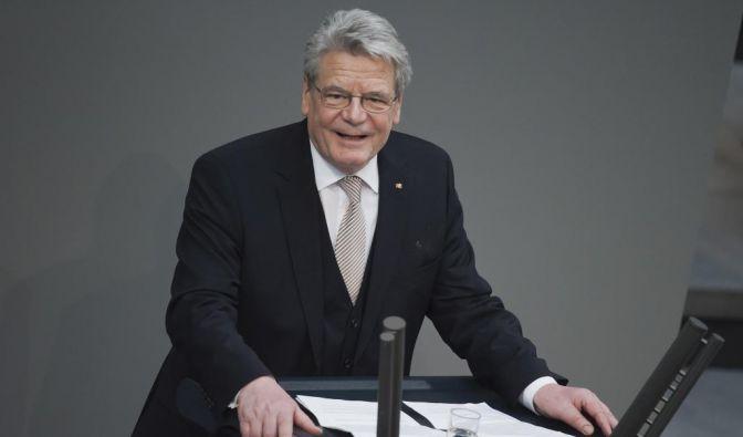 Gauck zum Bundespräsidenten gewaehlt (Foto)