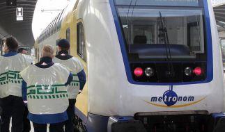 GDL bestreikt Bahn-Konkurrenten für 47 Stunden (Foto)