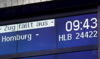 GDL bestreikt Privatbahnen (Foto)