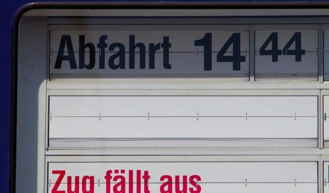 GDL verlängert Streik bei zwei DB-Wettbewerbern (Foto)