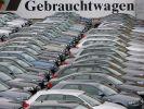 Gebrauchte Autos warten länger auf Kunden (Foto)