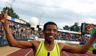 Gebrselassie bestreitet letztes Bahnrennen in Hengelo (Foto)