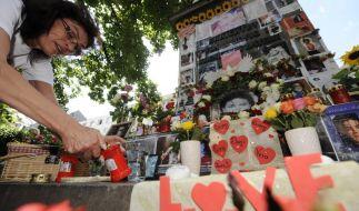 Gedenken an Michael Jackson zum 1. Todestag  (Foto)