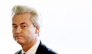 Geert Wilders ist der umstrittenste Rechtspopulist der Niederlande. (Foto)