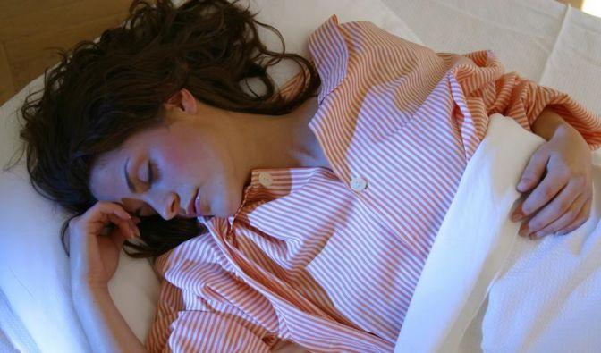 Gegen Schlafprobleme: Bett muss «Erholungsoase» sein (Foto)
