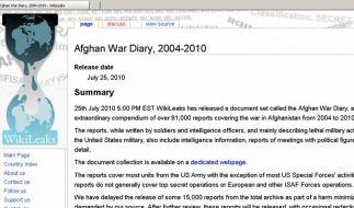 Geheimakten: Afghanistan-Krieg immer gefährlicher (Foto)