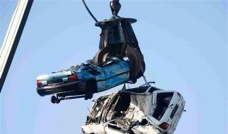 Geht es nach der Politik, sollen viele deutsche Gebrauchtwagen so enden. (Foto)