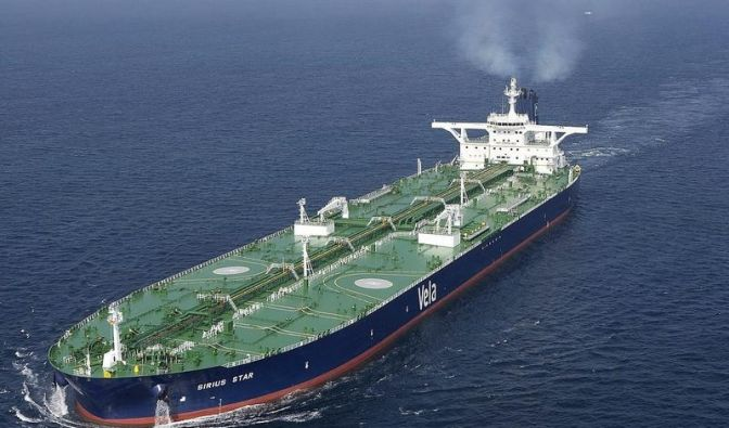 Gekaperter Tanker hat Öl für 100 Mio Dollar an Bord (Foto)