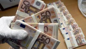 Geldscheine Bestechung (Foto)