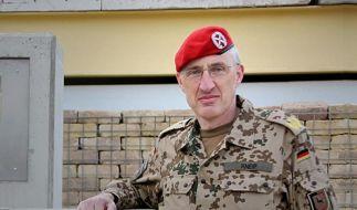 Generalmajor Kneip verwundet (Foto)