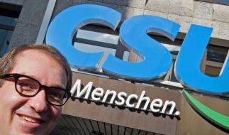 Generalsekretär Alexander Dobrindt gerät mit seiner Haltung in der Euro-Krise auch in der CSU mehr und mehr ins Abseits. (Foto)