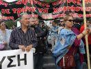 Generalstreik in Griechenland. (Foto)