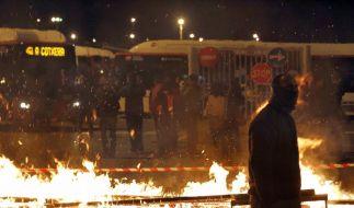 Generalstreik lähmt Spanien (Foto)