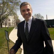 George Clooney rührt die Werbetrommel für Barack Obama.