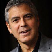 George Clooney setzt sich für den Frieden ein.