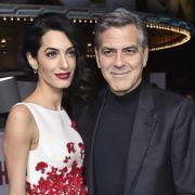 Die Babies sind da! So heißen die Clooney-Zwillinge (Foto)