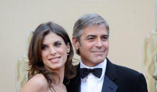 George Clooney und Elisabetta Canalis getrennt (Foto)